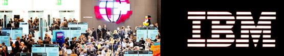 IBM Trade show scene
